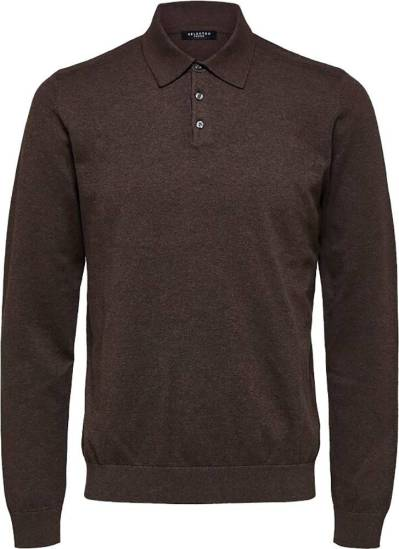 Selected homme Trui Slhberg Bruin