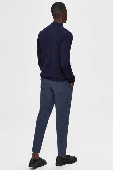 Selected homme Trui Slhberg Donkerblauw