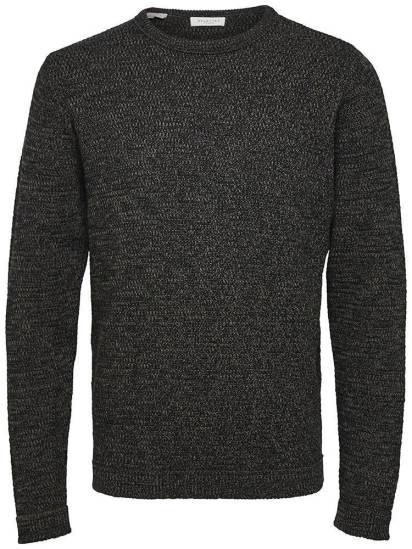 Selected homme Trui Victor Antraciet