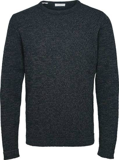 Selected homme Trui Victor Donkerblauw