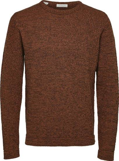 Selected homme Trui Victor Oranje