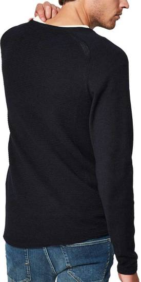 Selected homme Trui bakes donkerblauw