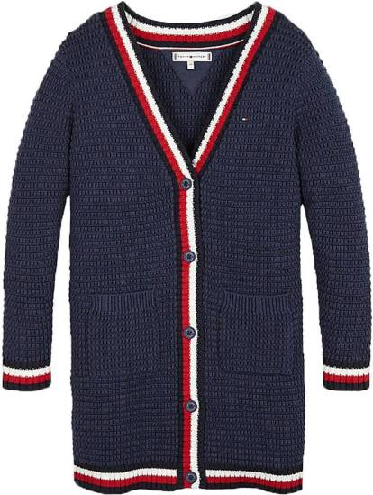 Tommy Hilfiger Vest Iconic ll donkerblauw