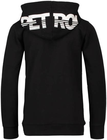 Petrol hooded sweater