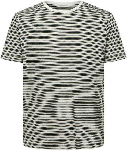 Selected homme slhpatrick stripe ss o-neck tee
