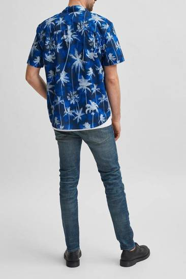 Selected homme slhrelaxsimon shirt ss vj